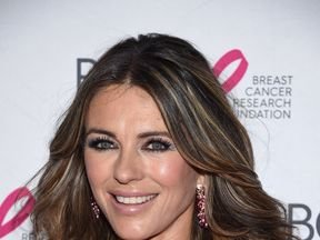 Actress Elizabeth Hurley attends The Breast Cancer Research Foundation's 2017 Hot Pink Party at the Park Avenue Armory on May 12, 2017 in New York City