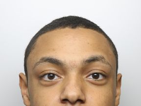 "Dyfed-Powys Police undated handout photo of 17-year-old Rueben Brathwaite who has been jailed for life for murdering his stepmother, Fiona Scourfield, after he became ""obsessed"" with watching extreme violence online. Friday September 14, 2018."