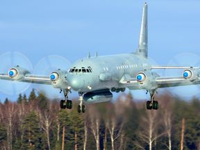 An Ilyushin pictured at Kubinka airbase in Russia in 2014