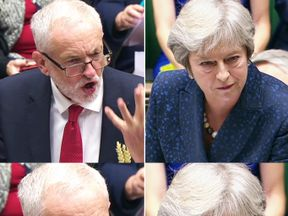 Jeremy Corbyn and Theresa May clashed during Prime Minister's Questions