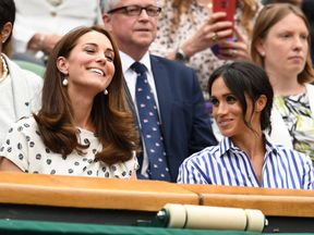 Kate's clothing choices have proven more popular with some shoppers than Meghan's