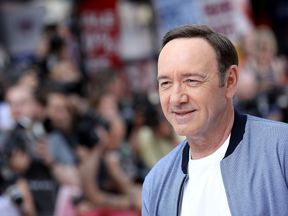 Kevin Spacey attends the European Premiere of Sony Pictures 'Baby Driver' on June 21, 2017 in London, England