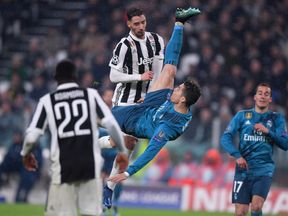 Cristiano Ronaldo believes his bicycle kick should have won best goal
