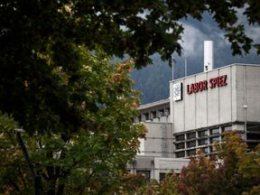 The suspected Russian spies targeted the Spiez laboratory located near Bern