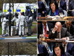 The UK and Russia clashed at a UN Security Council meeting into the Salisbury attack