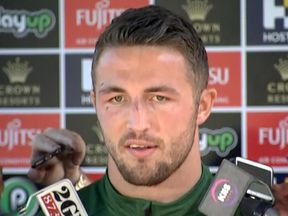 Sam Burgess told reporters he hoped the investigation would finish soon