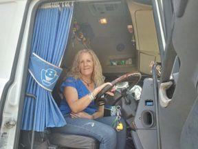 Lorry driver Sherralin Ballard was left stunned when 12 Iraqi migrants were discovered hidden in her trailer