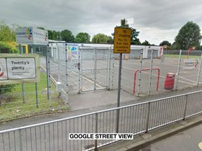 The alleged attack took place outside the St Barnabas C of E Primary Academy school