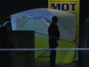 A teenager has died after he was shot in east London