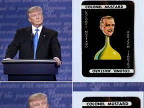 Donald Trump will be extremely keen to identify his own Colonel Mustard