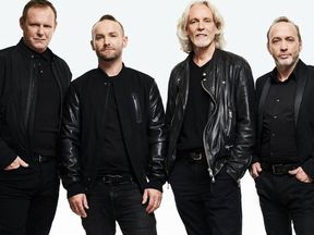 Wet Wet Wet with new singer Kevin Simm. Pic: Handout