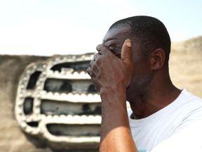 David Chamanga had his home burnt down on the eve of election day