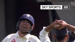 England's record run-scorer Alastair Cook has hit a century in his final Test innings for his country.