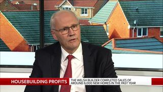 John Tutte is the chief executive of Redrow
