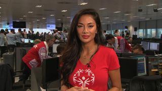 Nicole Scherzinger speaks to sky news on the 17th anniversary of 9/11.
