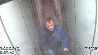 Alexander Petrov, who was formally accused of attempting to murder former Russian spy Sergei Skripal and his daughter Yulia in Salisbury, is seen on CCTV at Gatwick Airport on March 2, 2018 in an image handed out by the Metropolitan Police in London, Britain September 5, 2018.