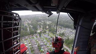 US Air Force aerial footage