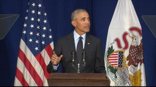 Obama speech on the importance of elections.