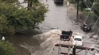Flash flooding makes driving in Connecticut dangerous