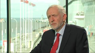 Corbyn talks on Labours possible Brexit u-turn.