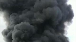 Luxembourg blaze dominates the sky