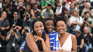 Kenyan film director Wanuri Kahiu appeared at the Cannes Film Festival with Samantha Mugatsia and  Sheila Munyiva to promote the film 'Rafiki'