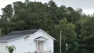 Parts of South Carolina continue to suffer floods in the wake of Florence