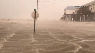 Storm Gordon made landfall near the Alabama-Mississippi border, bringing with it strong winds, torrential rain and a storm surge.