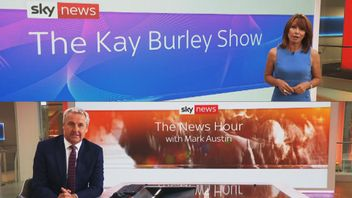 Kay Burley and Mark Austin launch new programmes on Monday