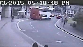 CCTV released showing West Midlands bus crash