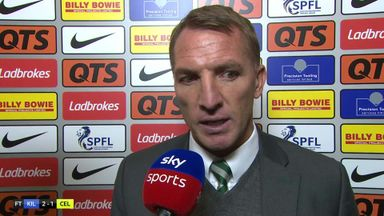 Late Celtic loss frustrates Rodgers