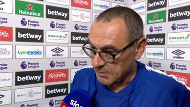 Sarri 'not happy with result'