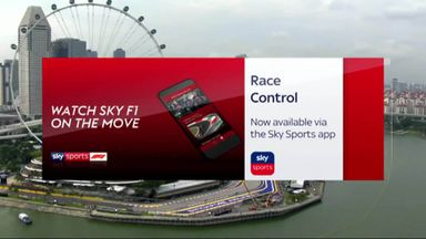 Watch Sky F1 on the move