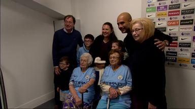 Pep greets lifelong fans