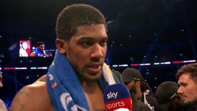 Joshua: Wilder my No 1 choice