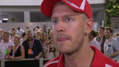 Vettel on Ferrari strategy call