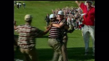 Ryder Cup moments: Leonard's putt