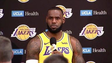 LeBron: Lakers way behind Warriors