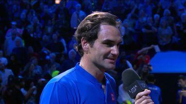 Federer: What a match!