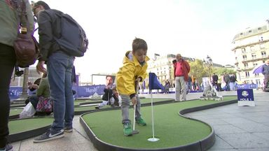 Paris gears up for Ryder Cup