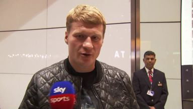 Povetkin arrives in UK
