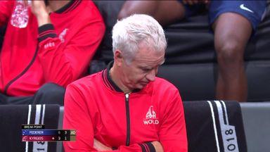 Vintage McEnroe loses his temper