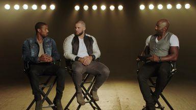 Creed II stars admire AJ