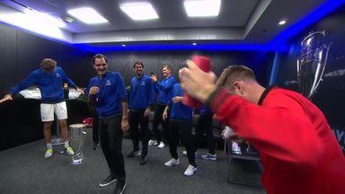 Team World gatecrash Europe celebrations