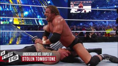Greatest Undertaker v Triple H showdowns