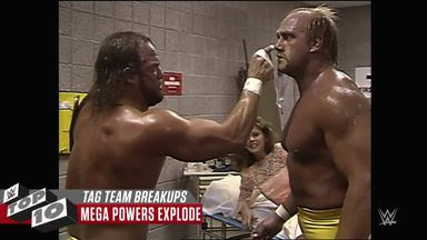 Top Ten: Biggest tag team breakups