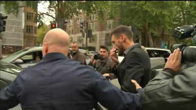 Lloris leaves court after guilty plea