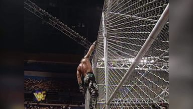 First ever Hell in a Cell match