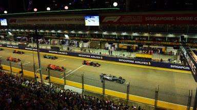Singapore GP - Race Highlights