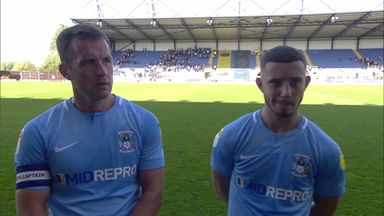 Chaplin: First Coventry goal means a lot